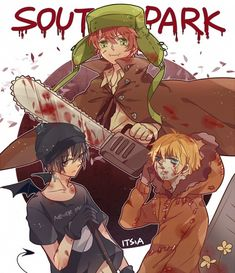 South Park Anime Halloween