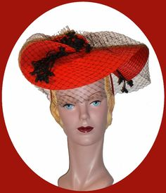 Fetching 1940s hat.