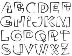 Showcase - Oneliner - Continuous line alphabet Hand Lettering Alphabet, Doodle Lettering, Graffiti Alphabet, Creative Lettering, Calligraphy Alphabet, Lettering Styles, Calligraphy Fonts, Typography Fonts, Lettering Design