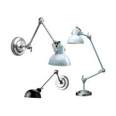 lampy industrial w miękkich pastelach lub klasycznej czerni - propozycja  firmy Bloomingville 4537ad0e79a7c