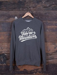 Take Me To The Mountains jumper – The Level Collective