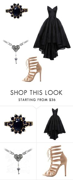 """""""Daydreaming"""" by victoria-murray-1 ❤ liked on Polyvore featuring Zac Posen and Charlotte Russe"""