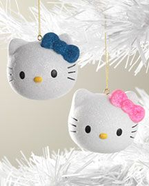 Hello Kitty - Ornaments... OMG I love it and want it!!!