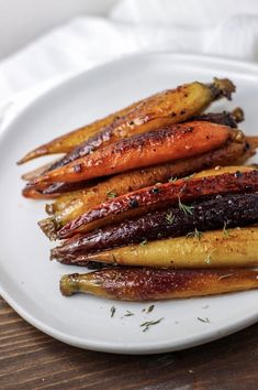 Sous vide carrots are one of my favorite things to make. People always underestimate them and yet every time I serve them there are no leftovers and everyone asks for the recipe! Perfectly tender with just the right amount of caramelized sweetness.