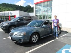 Congratulations Paula Combs and Gregory McCoy of Pikeville, Ky on their purchase of the 2006 Pontiac Grand Prix from Chris Fouts! Thank you and welcome to the Walters Toyota Nissan Family! #WaltersToyota #WaltersNissan