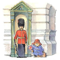 Oso Paddington, London Drawing, Famous Books, Children's Book Illustration, Book Illustrations, Animation, Belle Photo, Aesthetic Pictures, Childrens Books