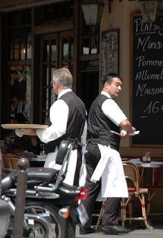 Paris France Cafe paris by traci Beach Paris Paris Travel, France Travel, Waiter Uniform, French Cafe, French Trip, Parisian Cafe, The Bistro, Best Espresso, Coffee Culture