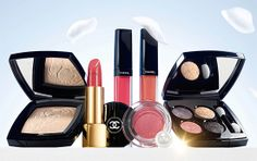 Chanel Jardin de Camelias Collection - the shades are gorgeous! Can't wait to try out the lip glosses <3