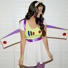 Buzz LightGirl #halloween #costume #disney #buzzlightyear