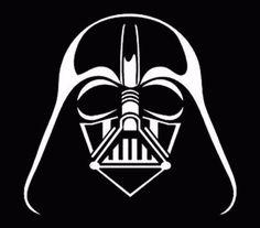 """Darth Vader window sticker vinyl decal car truck jdm fun White 5"""""""