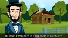 I was the first. Vote for Me! - Abraham Lincoln video