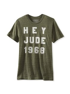 43d674164 Lords of Liverpool Men s Hey Jude 68 T-Shirt at MYHABIT Hey Jude