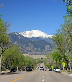 Pikes Peak, Colorado Springs, CO - oh! how I miss seeing this everyday!