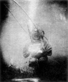 Louis Boutan was the first underwater photographer, who took pictures at a depth of 164 feet in 1893.