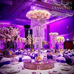 lazy susan wedding centerpiece - Google Search Wedding Reception, Wedding Venues, Wedding Day, Wedding Centrepieces, Centerpieces, Lazy Susan, Wedding Inspiration, Ceiling Lights, Google Search