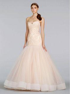 Lazaro 3402 Size 6 Wedding Dress – OnceWed.com