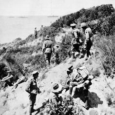 The first glimpse of Gallipoli Ww1 Photos, Photographs, World War One, First World, Gallipoli Campaign, Black Watches, Anzac Day, Lest We Forget, Military History