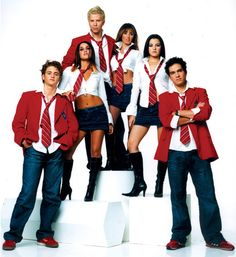 Rebelde. I just finished watching this novela  again the ending made me so nostalgic...