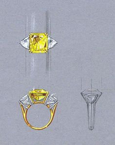private label yellow diamond and trillions