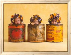I collected anne geddes when I was young. I had this print framed. :)