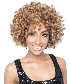 Isis Red Carpet Full Wig RCP190 LAURYN, Natural texture, Hand tied natural deep part, ebonyline.com