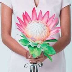 Our cover project this month is a 3D watercolour king protea - and best of all you only need a few craft supplies to recreate it.