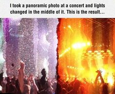 Funny pictures about Panoramic Photo At A Concert. Oh, and cool pics about Panoramic Photo At A Concert. Also, Panoramic Photo At A Concert photos. Pretty Pictures, Cool Photos, Funny Pictures, Funny Cute, Really Funny, Weird Facts, Fun Facts, Amazing Photography, Concert Photography