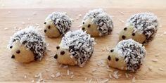 nepečení ježci Christmas Sweets, Christmas Candy, Christmas Baking, Czech Recipes, Ethnic Recipes, Czech Desserts, Hedgehog Craft, Cannoli, Christmas Cookies