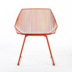 Gaurav Nanda: Bunny Lounge Chair Orange