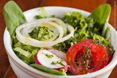 O Garimpo (almoço)    Salada Verde