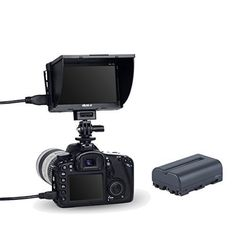 VILTROX DC-50 Clip-on Portable 5' LCD Monitor with HDMI V... https://www.amazon.com/dp/B0159SRQ90/ref=cm_sw_r_pi_dp_x_Gc-CybE0X5RD1