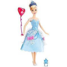 Promo Mattel, Poupée Cendrillon En Habits De Fête Disney Princesses  - marque : Mattel Super ta poupée Cendrillon en habits de fête Disney Princesses de chez Mattel, elle est prête pour aller danser !... prix : 15.39 EUR €  chez Auchan Jeux et Jouets #Mattel #AuchanJeuxetJouets