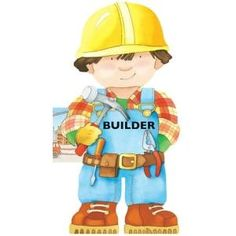 Builder (Mini People Shape Books) - Giovanni Caviezel, from Eliza Henry in Archbold, Ohio.