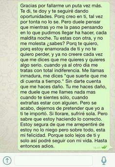 algun dia Sad Quotes, Love Quotes, Love Phrases, Sad Love, Love Messages, Spanish Quotes, It Hurts, Thoughts, Feelings