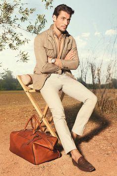 Massimo Dutti Look Book 2013 (February) Model: David Gandy David Gandy, Sharp Dressed Man, Well Dressed, Fashion Moda, Mens Fashion, Style Fashion, Fashion Ideas, Massimo Dutti Hombre, Classic Men