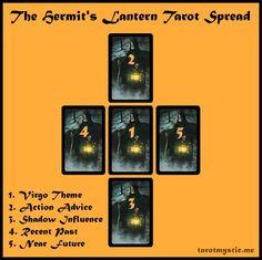 The Hermit's Lantern Tarot Spread   The Tarot Mystic