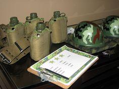 Army birthday party theme ideas
