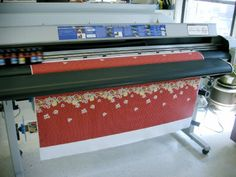 Introduction to Digital Fabric Printing: Technology, Design & Possibilities is a guest post written for us by Jasonda Desmond. Jasonda has long been a member of our forum and designed the masth… Textiles, Textile Prints, Textile Design, Fabric Design, Pattern Design, Custom Printed Fabric, Printing On Fabric, Digital Printing Services, Screen Printing Machine