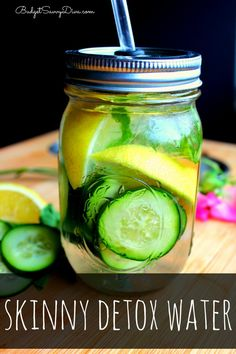 Skinny Detox Water Recipe