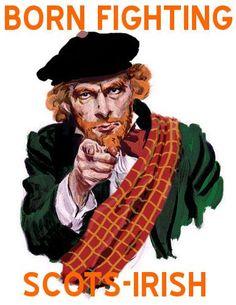 Ulster Scot pride :)