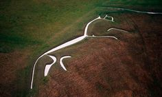 Jonathan Jones continues his story of British art in pictures with the hauntingly beautiful White Horse of Uffington. But why was it made – and how does it relate to the horse god Rhiannon? Ancient Aliens, Ancient Art, Living In England, Year Of The Horse, White Horses, The Guardian, Great Britain, Pretty Pictures, Places To See