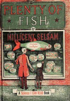 ohsamiam: Millicent Selsam, Plenty of Fish (1960) Illustrations by Erik Blegvad