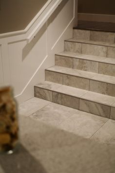 Tile On Stairs Can Be A Beautiful, Durable Alternative. However, It Is  Important