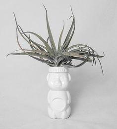 Little Porcelain Honey Bear Vase