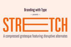 Bw Stretch typeface