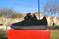 16327114b7e20 Sometimes you just need a clean pair of all black kicks in your rotation.  Just keep em half laced
