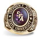 Order your SFA Ring online or come by the Alumni office!
