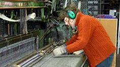 weaving tweed