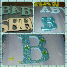 Letras Baby Shower (Hielo Seco)