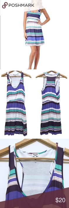 Splendid Canyon Stripe Casual Dress 100% Micro-modal = 100% comfort.  Good used condition. Splendid Dresses